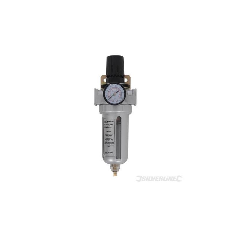 Regulador de presión con filtro de humedad