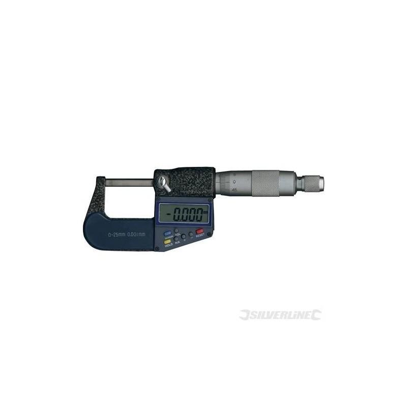 Micrómetro digital externo