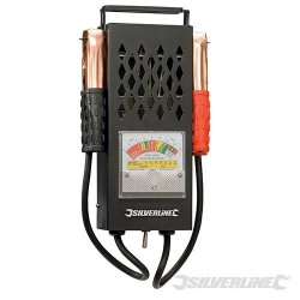 Comprobador de baterías analógico