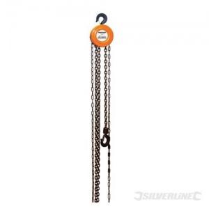 Polipasto manual de cadena 1 tonelada