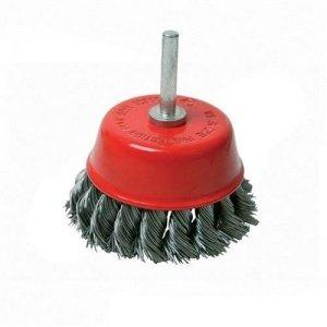 Cepillo de vaso trenzado con vástago
