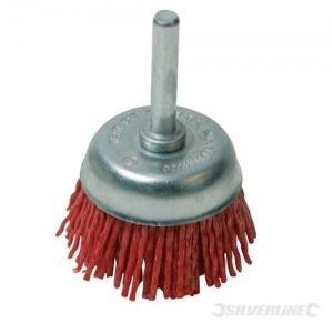 Cepillo abrasivo con filamentos