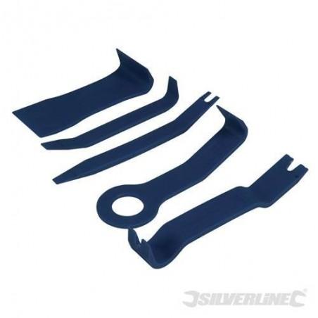 Herramientas para extraer tapicerías de vehículos