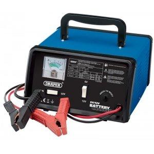 Cargador de batería 6 V / 12 V 5.6A