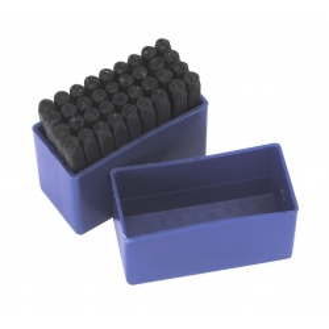 Punzónes troquel con números y letras para metal 4 mm