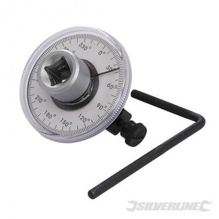 """Goniómetro, medidor de ángulo 1/2"""""""