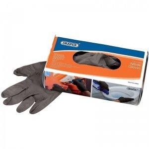 Caja de 100 guantes negros de Nitrilo