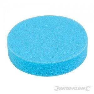 Esponja de pulido dureza media con velcro 180 mm